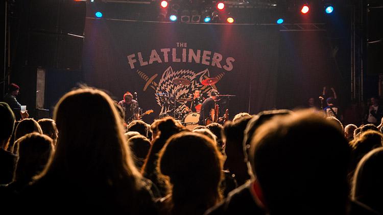 THE FLATLINERS / 28.04.2017 / UNCLE M FEST